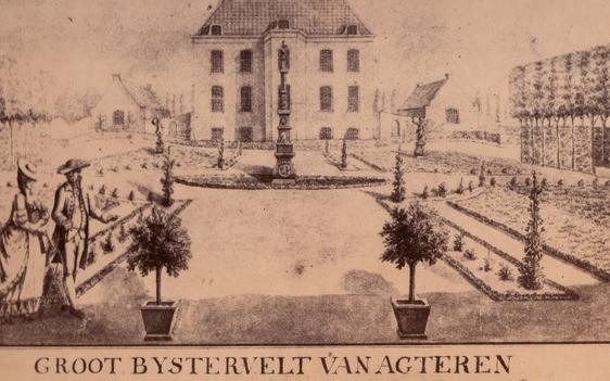 Historische foto Groot Bijstervelt 14